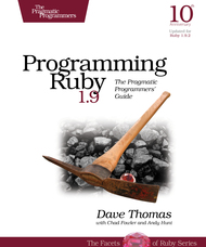 Programming Ruby book cover