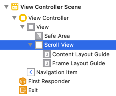 Scroll View Content Layout Guides