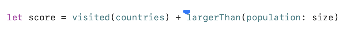 Xcode Column Breakpoints